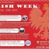 Polish Week at the University of Alberta. September 21st - 25th, 2015.