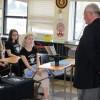 John Szumlas, Konsul Honorowy RP w Edmonton z wizytą w polskiej klasie w szkole Austin O`Brien