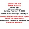 "Polish Heritage Society of Edmonton ""OPEN HOUSE"""