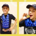 Dziesięć złotych, jeden srebrny i kolejny rekord klubu w pływaniu Eryka Mrugały