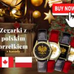 Zegarki z polskim orzełkiem