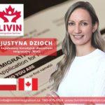 JustynaDzioch - Regulowany Kanadyjski Konsultant Imigracyjny (RCIC)