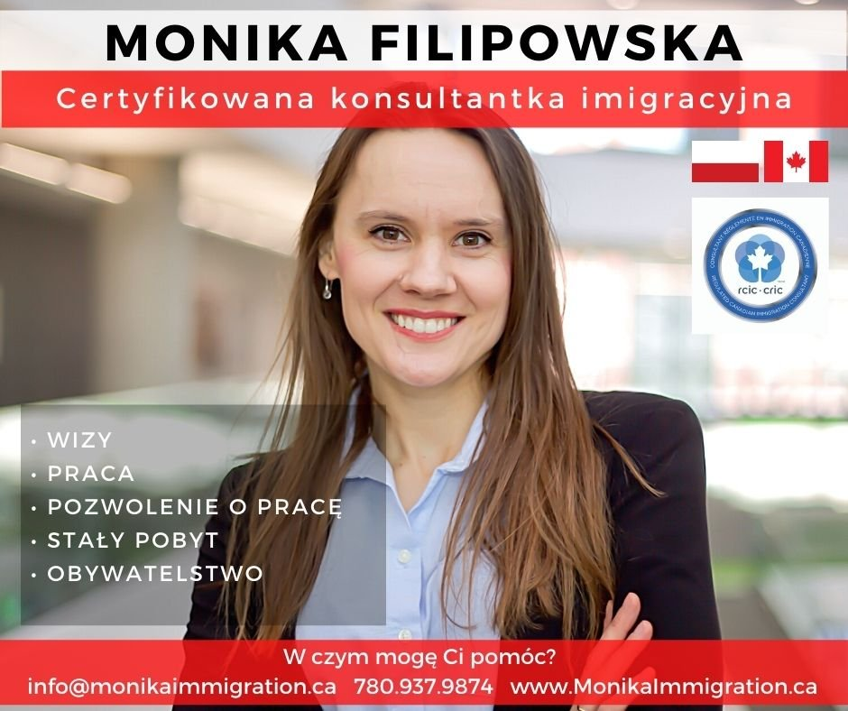 Monika Filipowska - Regulated Canadian Immigration Consultant